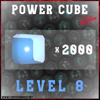 POWER CUBES L8 x 2000
