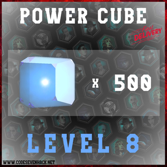 POWER CUBES L8 x 500