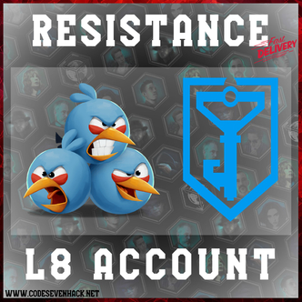LEVEL 8 RESISTANCE ACCOUNT