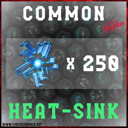HEAT SINK COMMON x 250
