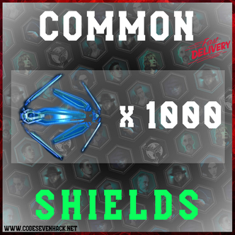 COMMON SHIELDS x 1000