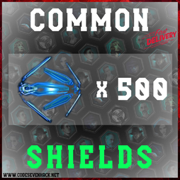 COMMON SHIELDS x 500
