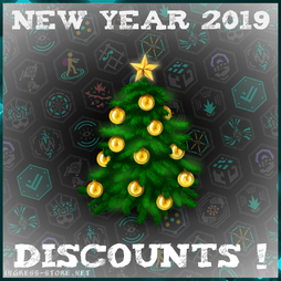 NEW YEAR 2019, CHRISTMAS, DISCOUNTS