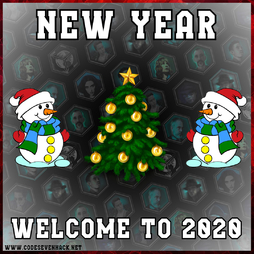 Merry Christmas, New Year 2020 !
