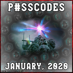 Ingress Prime: passcodes, January 2020