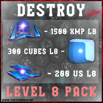 DESTROY PACK - 2000 ITEMS