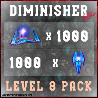 DIMINISHER PACK x 2000