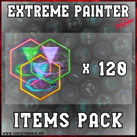 EXTREME PAINTER: GAME-ITEMS PACK