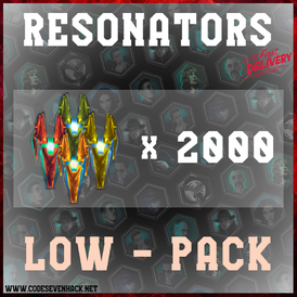 LOW RESONATORS x 2000