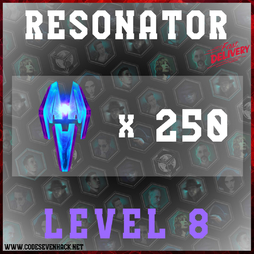 RESONATORS LEVEL 8 x 250