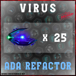 ADA REFACTOR VIRUSES x 25