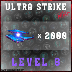 ULTRA STRIKE LEVEL 8 x 2000